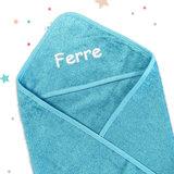 Kraampakket koffer met naam (blauw)