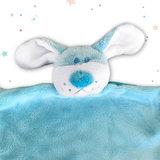 Tutpopje met naam (blauw)