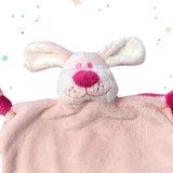 Tutpopje met naam (roze)