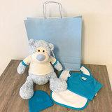 Kraampakket - Knuffel beer met foto (jongen)
