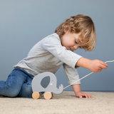 Wooden Elephant Pull toy - Little Dutch