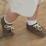 Babyschoentjes leer - Star Brown