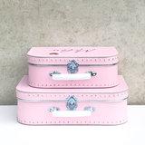 Koffer bedrukken - Roze