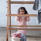 Koeka baby badjas met naam - Pink