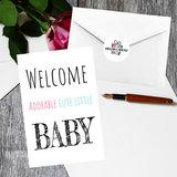 Kraamcadeau tas (baby roze)_