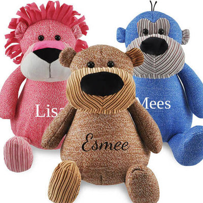 Knuffel beer met naam