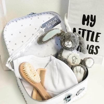 Happy Horse kraampakket met naam (Grey Rabbit Twine)