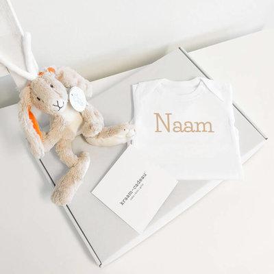 Brievenbus - Kraampakket Happy Horse (Rabbit Twine - beige)