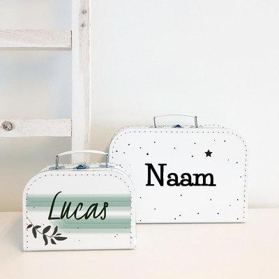 Koffer bedrukken (25 cm of 30 cm)