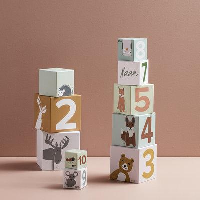 Stapelblokken met naam - DIEREN