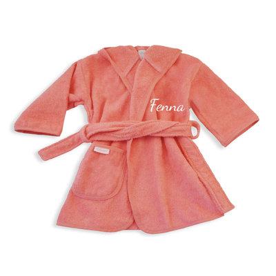 Baby badjas met naam 0-1 jaar (indian)