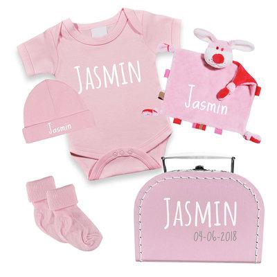 Kraampakket koffer (roze)