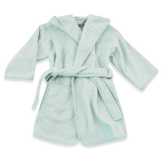 Baby badjas met naam (mint)