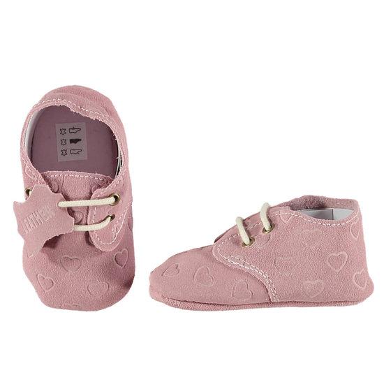 Babyschoentjes leer - Sweet Pink