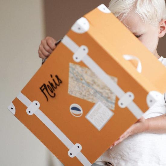 Kinderkoffer met naam