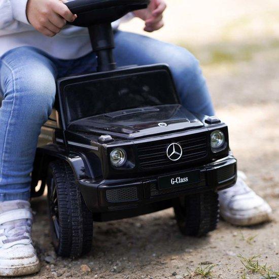 Loopauto Mercedes Benz met naam