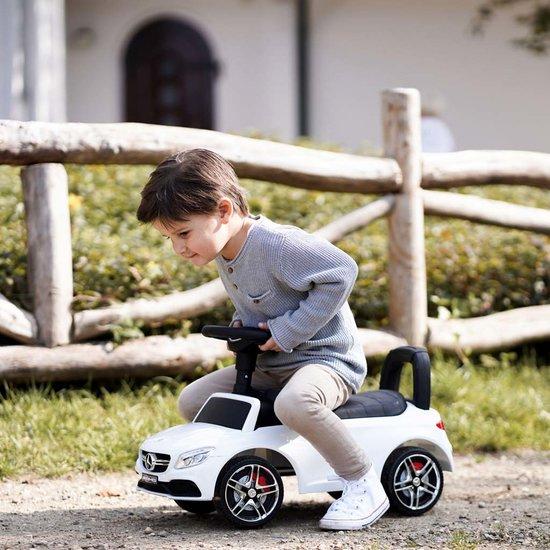 Loopauto Mercedes Coupe met naam