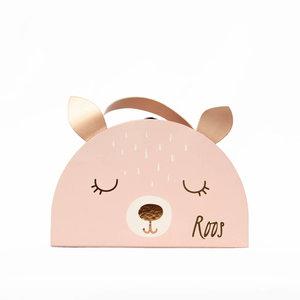 Koffertje met naam - Hert