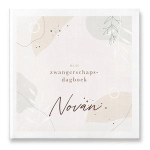 Invulboek met naam (zwangerschap) - Pure