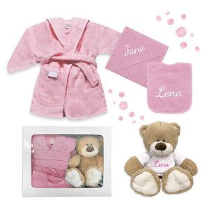 Kraamcadeau pakket (roze)